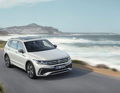 Nowy Volkswagen Tiguan Allspace debiutuje jako pojemny i bardzo nowoczesny
