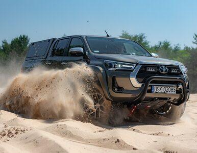 Nowa Toyota Hilux Arctic Trucks jako prawdziwa terenówka